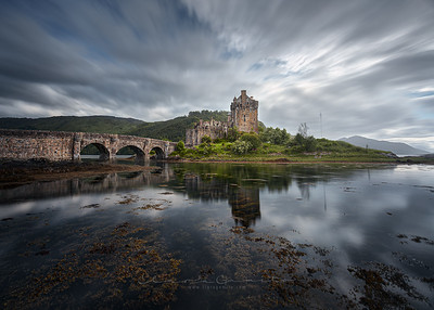 A castle in the loch