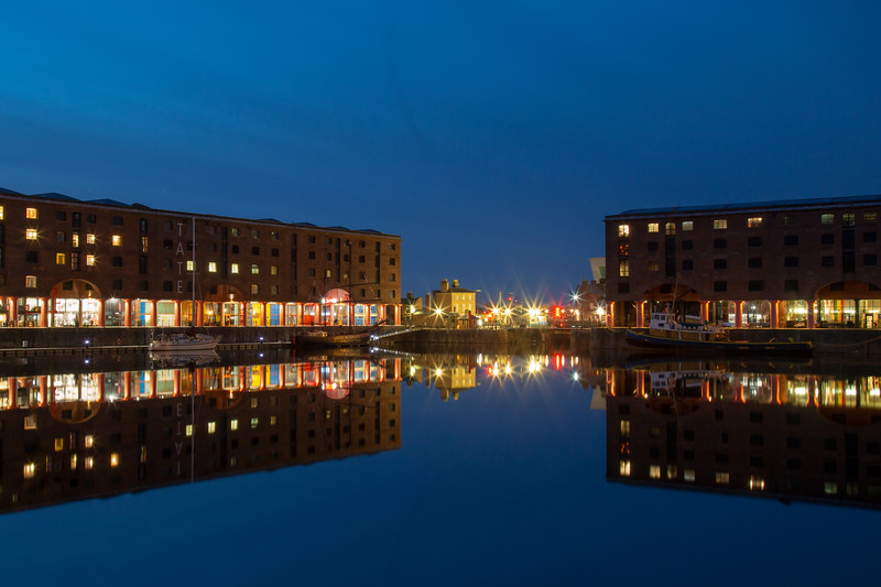 Albert Dock Reflected