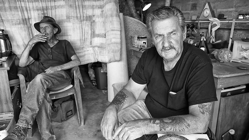 Arivaca residents contemplate border issues.©Bob Torrez