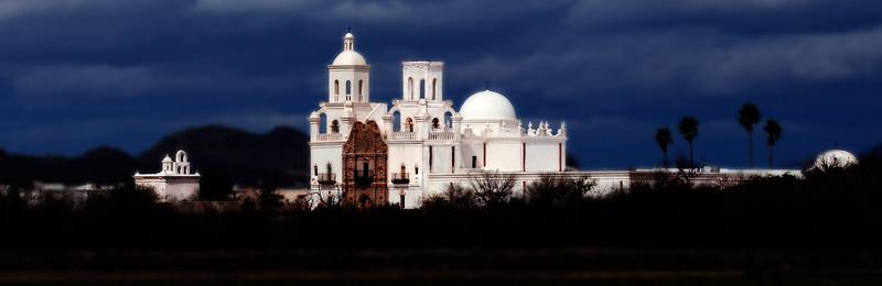 San Xavier Mission, Tucson, Arizona ©Bob Torrez