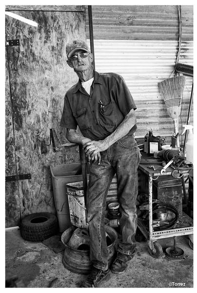 Mechanic, Arivaca, Arizona ©Bob Torrez