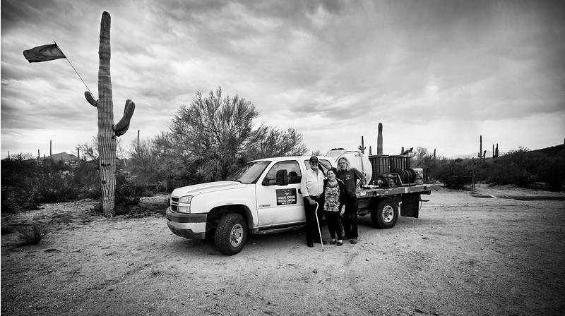 Humane Borders volunteers. ©Bob Torrez