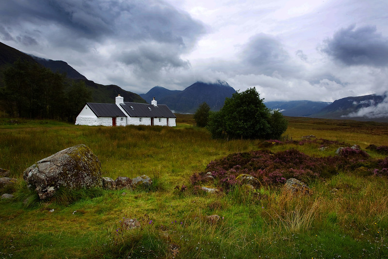 White Cottage Glencoe.