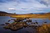 A Lochan at Assynt. Sutherland. Scotland.