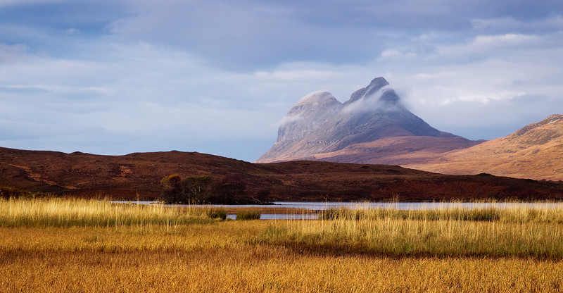 The Mountain of Suilven. Assynt. Sutherland. Scotland.