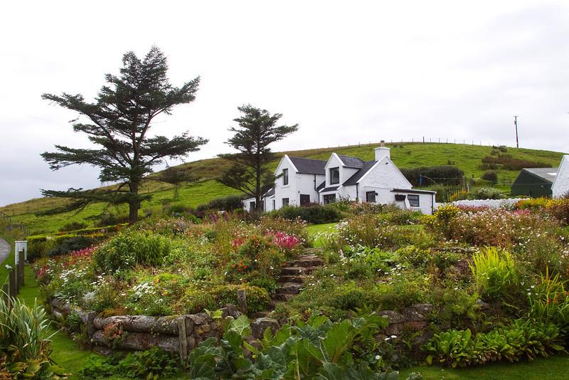 Beautiful House and garden No 1 Waterstein.   Skye.