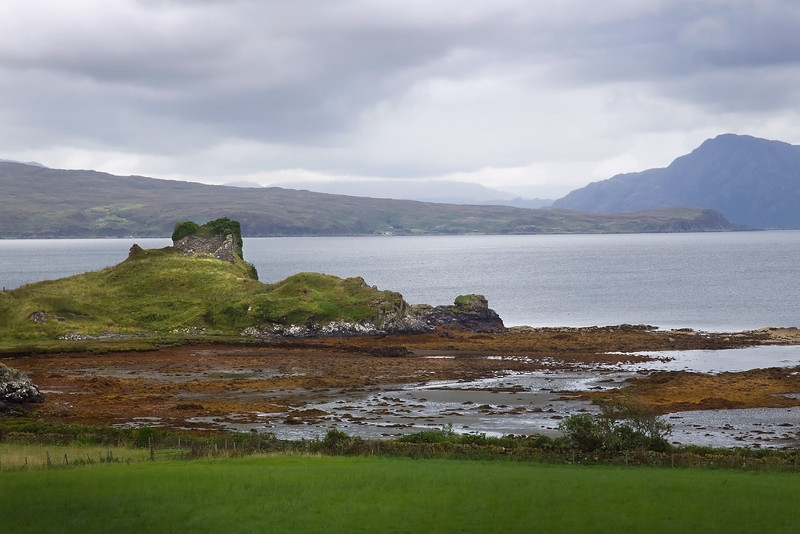 Ancient Knock Castle Skye.