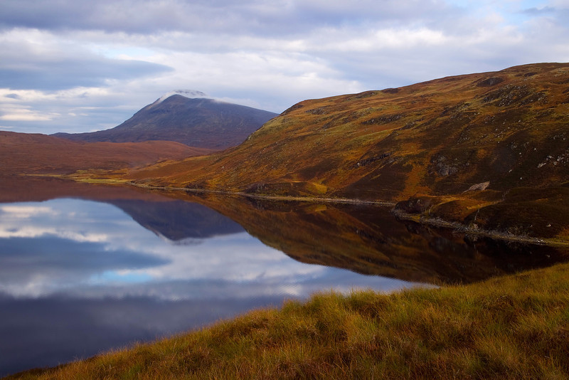 The Mountain of Canisp. Assynt. Sutherland. Scotland.
