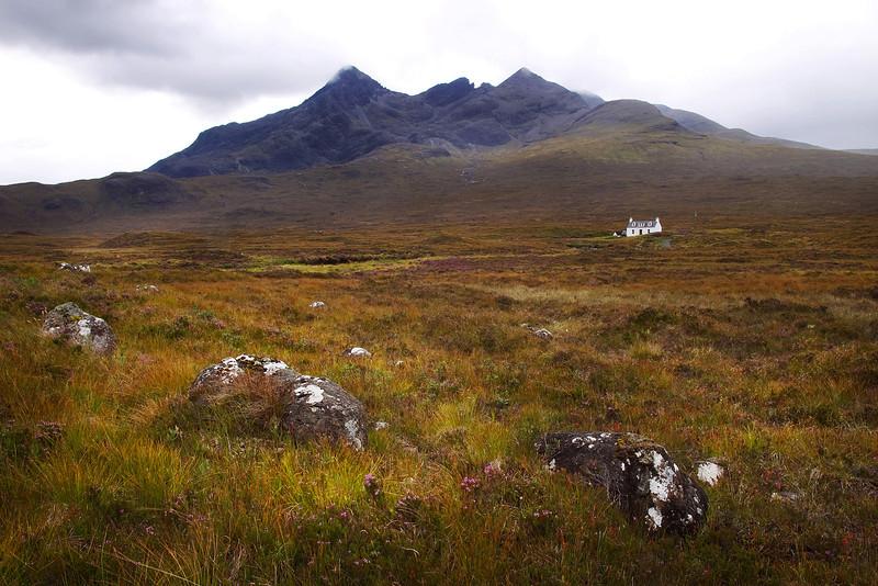 Mountain Beinn Bhreac Skye.
