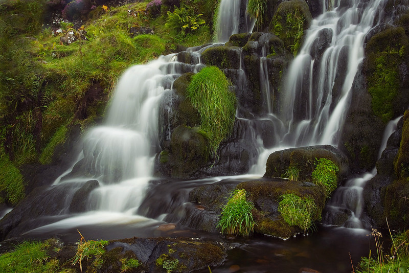 Waterfall on Skye. John Chapman.