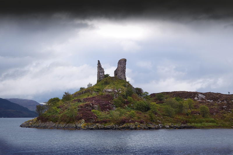 Caisteal Maol on the Island of Skye.