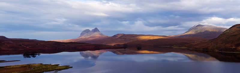 The mountain of Suilven in Sutherland. Scotland.