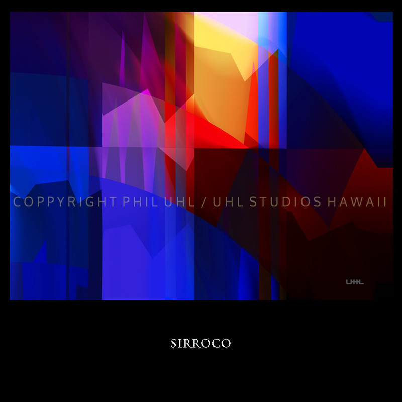 """ Sirroco ""  Digital Painting"