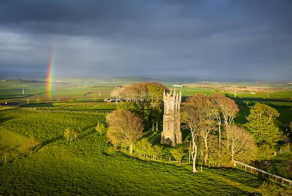 Tolkiens rainbow, Barnweil, Ayrshire