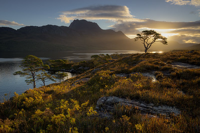 Sunrise Over Slioch