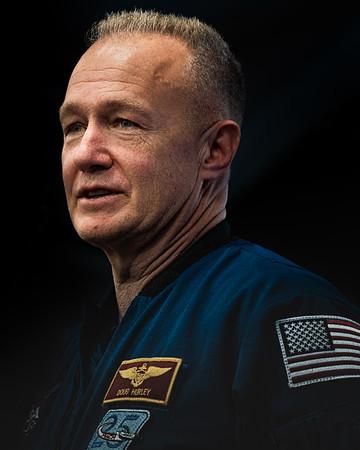 NASA astronaut Doug Hurley in January 2020.