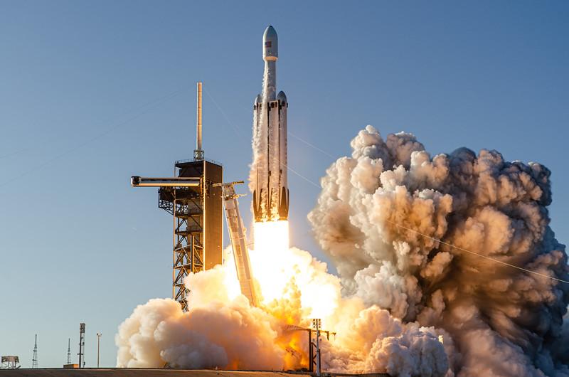 Falcon Heavy: Arabsat-6A