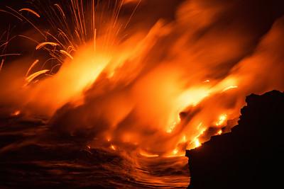 Lava Explosions