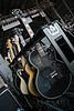 Soul Asylum's guitar rack.