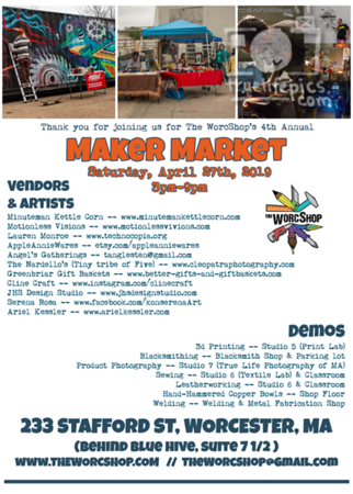 Maker Market Vendor Flyer