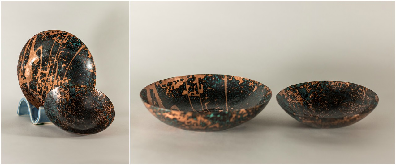 patina bowls