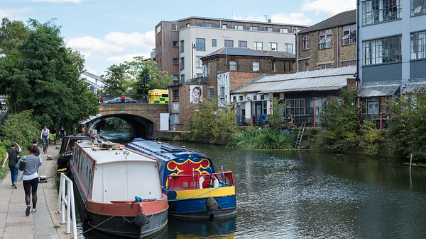 The size of the narrowboats is determined by the tunnels and locks on the canals.  They vary from luxurious indulgences to rundown alternatives to London's high rents.