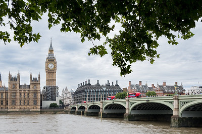 Shortly after we arrived for our year in London, the Elizabeth Tower and Big Ben were covered by scaffolding.  I managed to get a look at the iconic view before the scaffolding went too high.