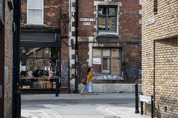 Shoreditch, and Brick Lane especially, is an eclectic mix--ethnically diverse and not yet completely gentrified.