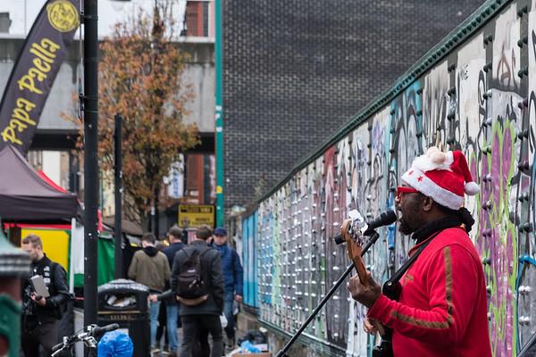 A December weekend in Brick Lane