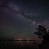 Night Sky over Chequamegon Bay