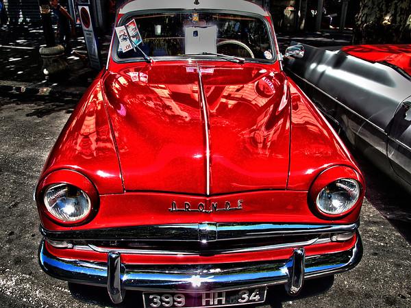 Simca Aronde Grand Large - FR 1951