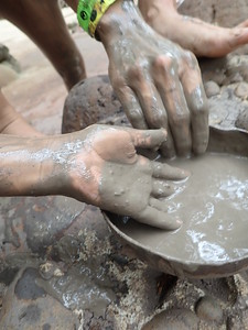 Traditional Costa Rica Volcanic Mud Mask Ingredients