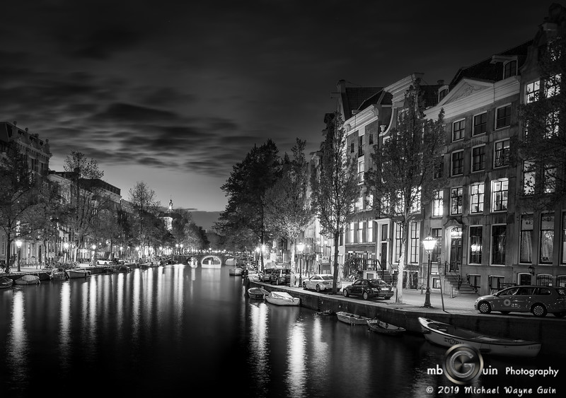 Quiet Night on the canal