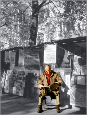 """Morning Papers"", Paris"
