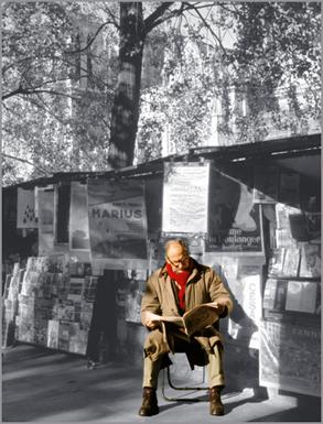 """Morning Papers"", Paris"