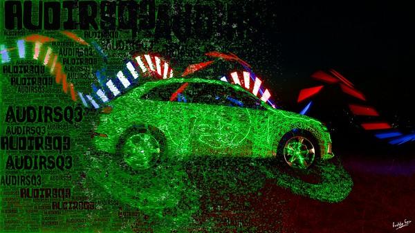 Funky Green Audi RSQ3