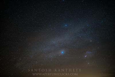 Sirius & Orion