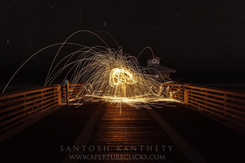 Sparks in the sky..