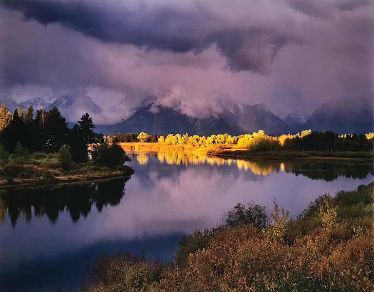 First Light Oxbow Bend