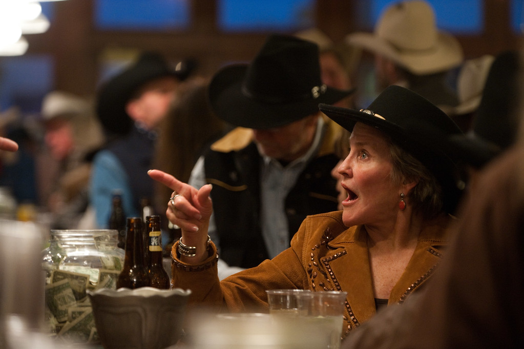 Bar sene at the Pioneer Saloon at the Western Folklife Center<br /> <br /> Scenes from the 28th annual National Cowboy Poetry Gathering in Elko Nevada. February 3, 2012.