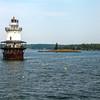 Lonely Goose Rocks Spark Plug Lighthouse
