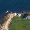 Prospect Harbor Light Aerial View