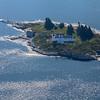 Pumpkin Island Lighthouse Aerial