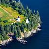 Eagle Island Light Aerial