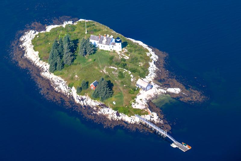 Pumpkin Island Light in Penobscot Bay