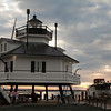 Drum Point Lighthouse at Dawn