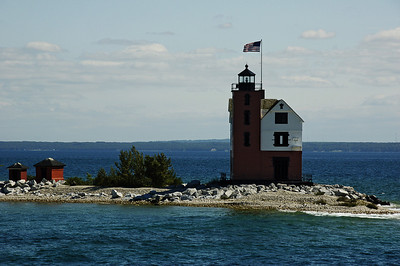 Round island Lighthouse - Straits of Mackinac