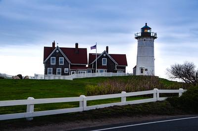 Nobaska Lighthouse - Cape Cod