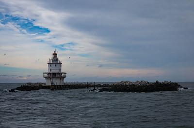 Brandywide Shoal Light - Delaware Bay, Delaware