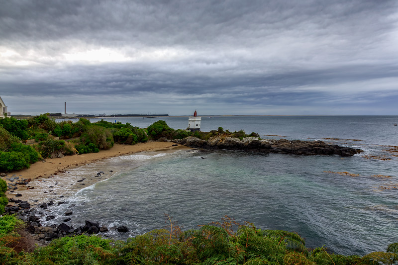Stirling Point Lighthouse.